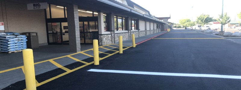 parking lot striping medford oregon